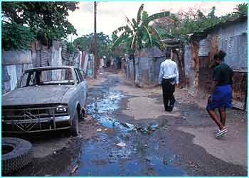 poverty in jamaica