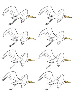 Egret_Stickers