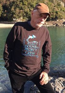 Ric_O'Barry_at_the_Cove_in_Taiji,_Japan_2014